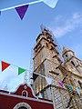 Cathedral at Dusk - Campeche - Yucatan Peninsula - Mexico (15686794975).jpg