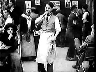 Файл:Caught in a Cabaret (1914).webm