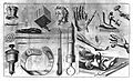 Cautery and a deligation machine from Heister. Wellcome L0001926.jpg