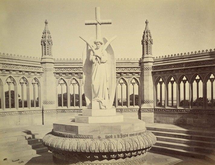 Cawnpore Memorial, 1860