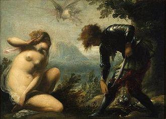 Smart Museum of Art - Cecco Bravo, Angelica y Ruggiero, 1660