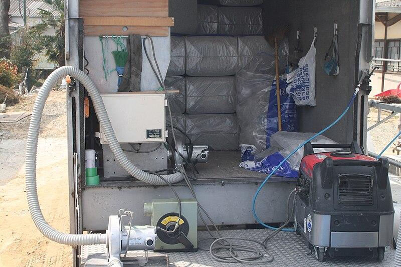 rent insulation blowing machine