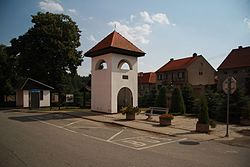 Center of Pucov in 2013, Třebíč District.JPG
