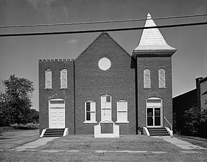 National Register of Historic Places listings in Muskogee County, Oklahoma - Image: Central Baptist Church of Muskogee