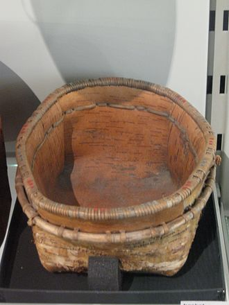Yupik peoples - Yup'ik basket.