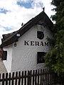 Ceramic house (1896) in Gyenesdiás, 2016 Hungary.jpg