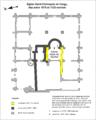 Cergy (95), église Saint-Christophe, plan première église romane.png