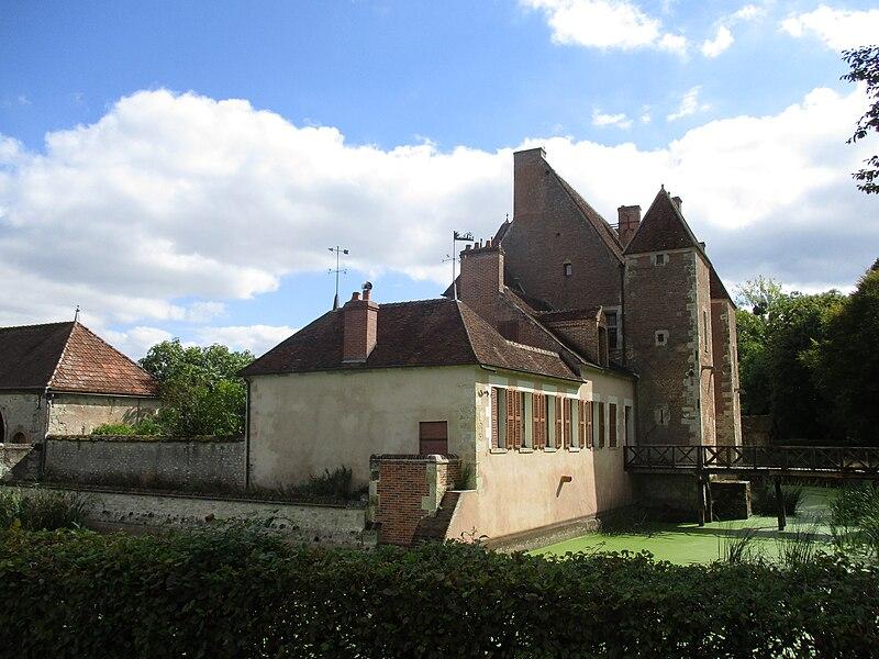 Château de Montliard, vue générale.