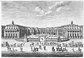 Château de Versailles seen from the forecourt, from Chalcographie du Louvre, Vol. 22 MET MM79300.jpg