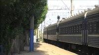 File:ChS7-123 with train arrives Saki station.webm