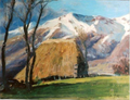 Ch Jaffeux huile 40x50 près Raymond (Cantal).png