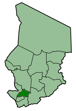 Location of Tandjilé