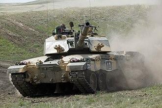 Royal Tank Regiment - Image: Challenger 2 Tank MOD 45149095