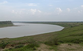 Unterlauf des Chambal bei Dholpur