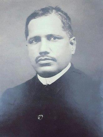 Chandrashekhar Agashe - Agashe circa 1930.