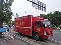 Chaozhou, Guangdong, China - ISUZU ELF Fire Propaganda Vchicle.jpg
