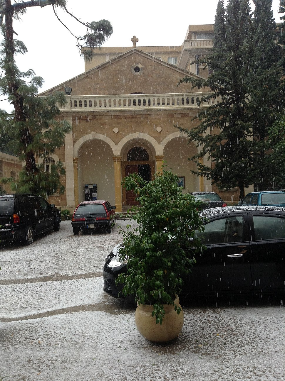 Chapel of the faculty of medicine of Saint Joseph University, Beirut
