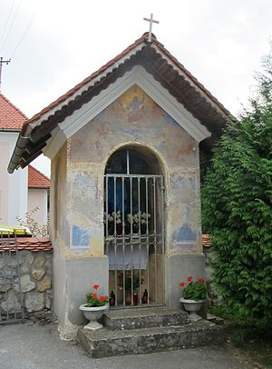 Mali Lipoglav - Image: Chapel shrine Mali Lipoglav Slovenia