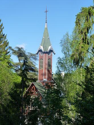 Arboretum de la Hutte - La Hutte Chapel - Vallée de l'Ourche