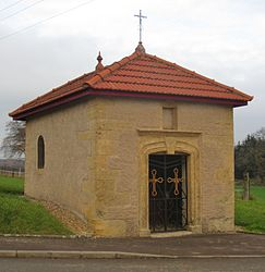 The chapel in Mont-Bonvillers