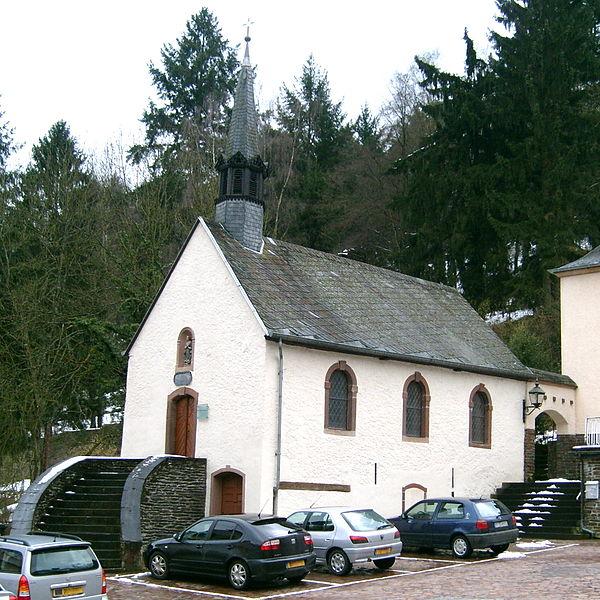 Chapelle de la sodalité mariale, Vianden, built 1761.
