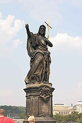 Statue of John the Baptist, Charles Bridge