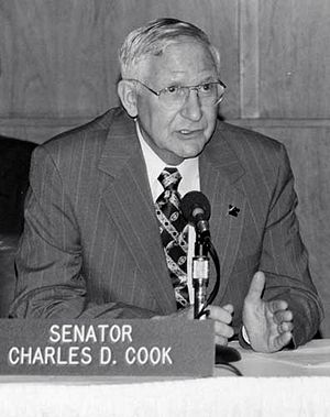 Charles D. Cook - Sen. Charles D. Cook