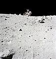 Charlie Duke and LRV at North Ray crater.jpg