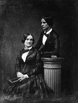 Charlotte Cushman - Charlotte Cushman and Matilda Hays