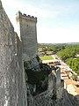 Chateau de Beaucaire muraille 2.JPG