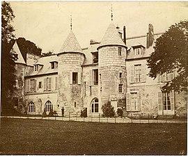 Das Chateau de Vaux, im Jahre 1887