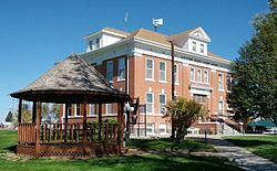 Cheyenne County Colorado Courthouse Left Front 2.jpg