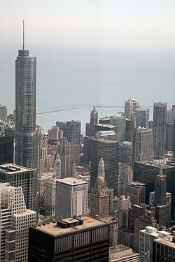 "Chicago (ILL) Willis Tower ( Ex. SEARS Tower ) 1974, N-E side "" the loop "" (4800267147).jpg"
