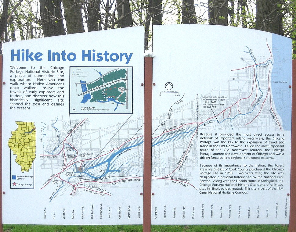 Chicago Portage Hike Into History
