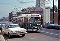 Chicago trolleybus 9680 on Belmont in 1968.jpg