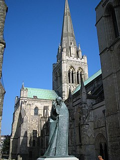 Chichester Cathedral and St Richard - geograph.org.uk - 229843.jpg