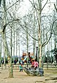 Children in a playground at Xuanwu Lake Park, Nanjing, People's Republic of China in 1978.jpg