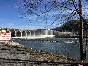 Chilhowee Dam - Chilhowee Dam