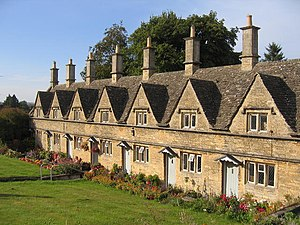Chipping Norton - Chipping Norton Almshouses, founded in 1640