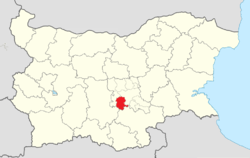Chirpan Municipality Within Bulgaria.png