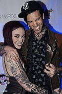 Chloe Carter and Small Hands at Inked Awards 2016 (31805843642).jpg