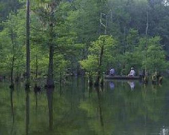 Choctaw National Wildlife Refuge - Image: Choctaw NWR1