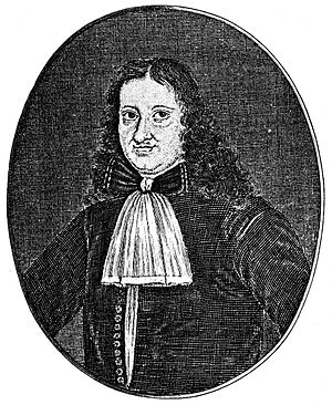 Christian Weise - Christian Weise, engraving by Johann Christoph Böcklin
