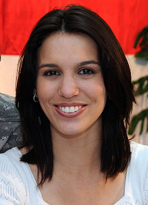 Kim Possible - Christy Carlson Romano, voice of Kim Possible.