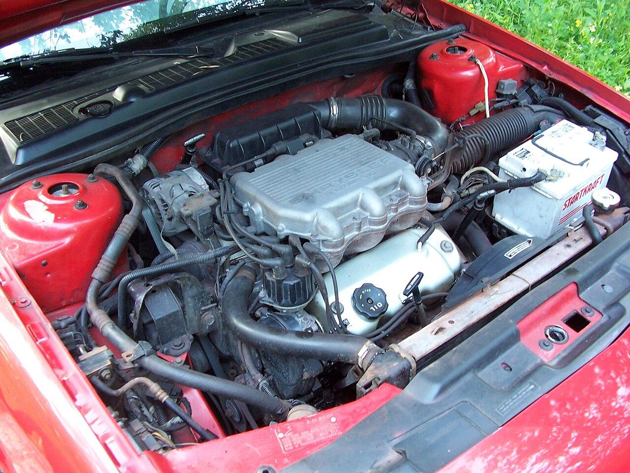 File:Chrysler-Mitsubishi 3.0 V6 6G72 engine.jpg