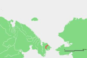 Chegitun River - Location of the Chegitun River course