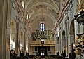 Church of St. Anne, interior-choir and organ, 13 sw. Anny street, Old Town, Krakow, Poland.jpg