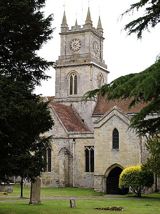 Tisbury, Wiltshire - Church of St John the Baptist