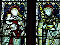 Church of St Nicholas, Carlton Scroop - 1890 south aisle east stained window detail.jpg