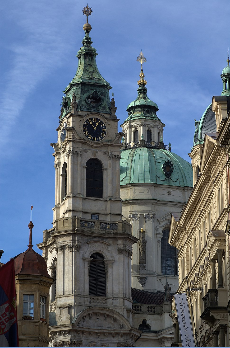 Church of St Nicholas of Mala Strana in Prague 2011